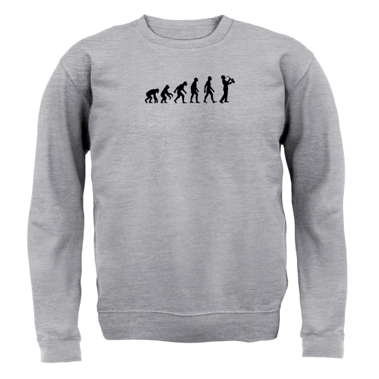 Evolution Of Man Saxophone Jumpers