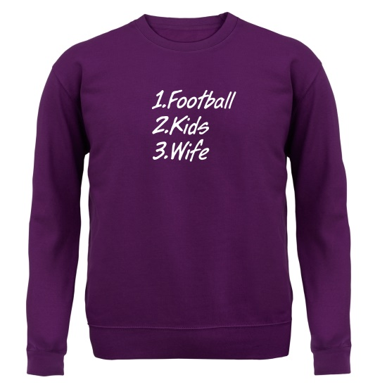 Football Kids Wife Jumpers