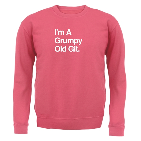 I'm A Grumpy Old Git Jumpers