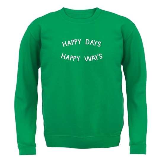 Happy Days Happy Ways Jumpers