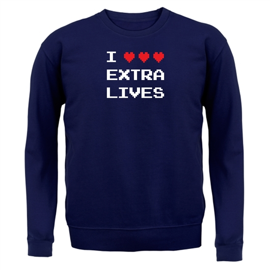 I Heart Extra Lives Jumpers