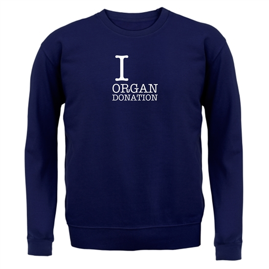I Heart Organ Donation Jumpers