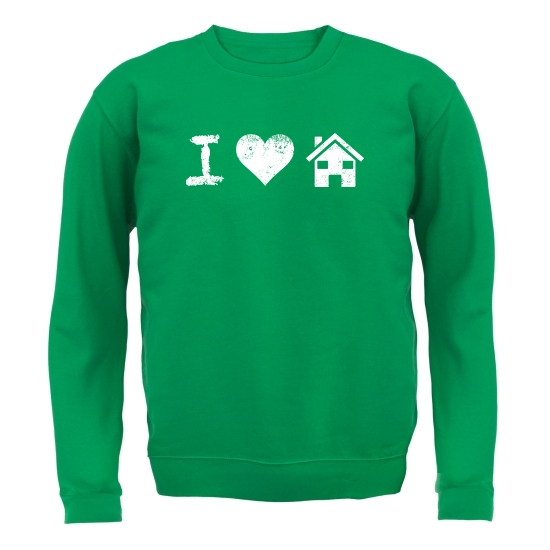 I Love House Music Jumpers