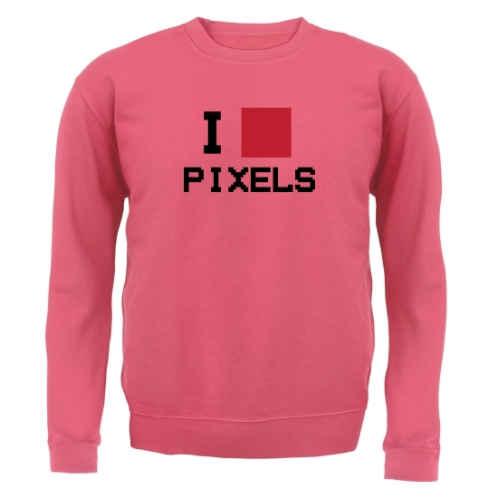 I Love Pixels Jumpers