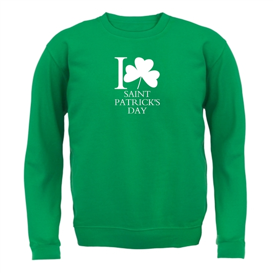 I Love Saint Patrick's Day Jumpers