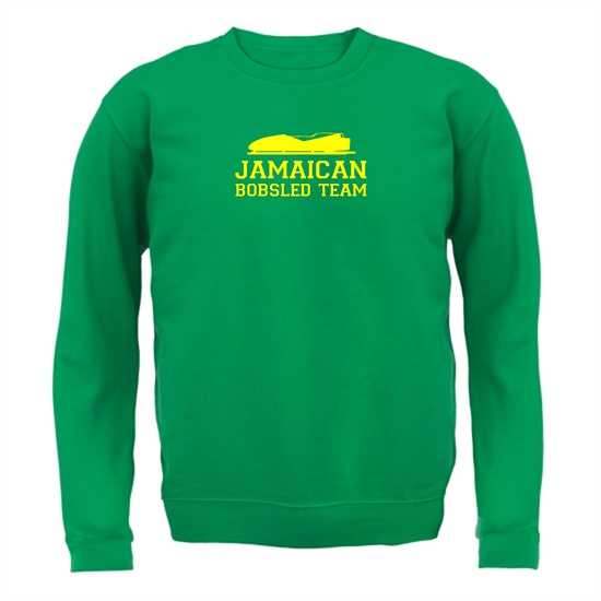 Jamaican Bobsled Team Jumpers