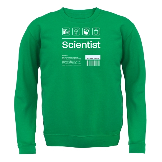 Scientist Ingredients Jumpers