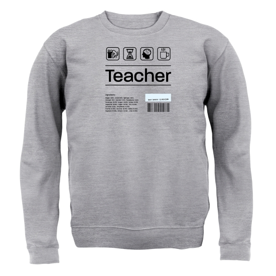 Teacher Ingredients Jumpers