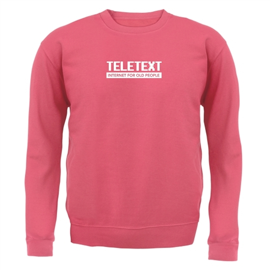 Teletext Internet For Old People Jumpers
