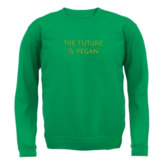 The Future Is Vegan Jumpers