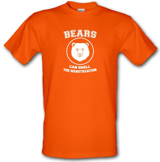 Bears Can Smell The Menstruation T-Shirts for Kids
