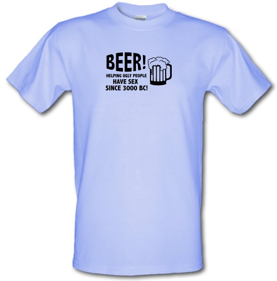 Beer! Helping Ugly People Have Sex Since 3000BC! T-Shirts for Kids