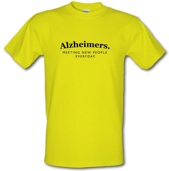 Alzheimers Meeting New People Everyday T-Shirts for Kids