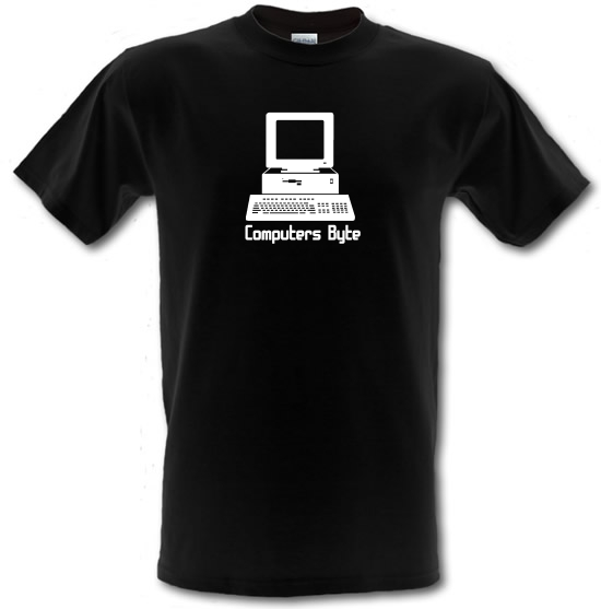 Computers Byte T-Shirts for Kids
