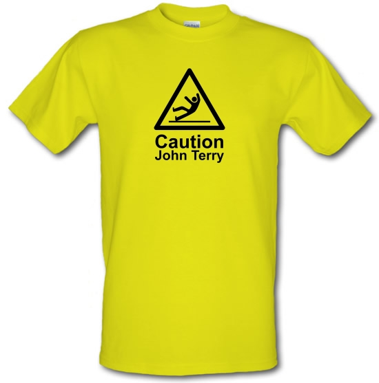 Caution John Terry T-Shirts for Kids