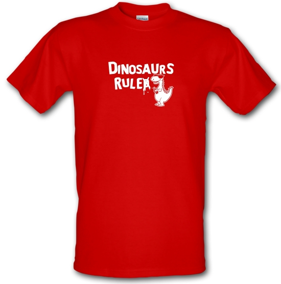 Dinosaurs Ruled T-Shirts for Kids