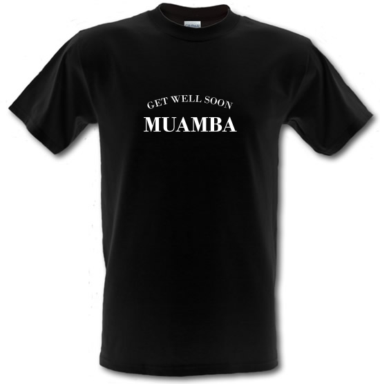 Get Well Soon Muamba T-Shirts for Kids