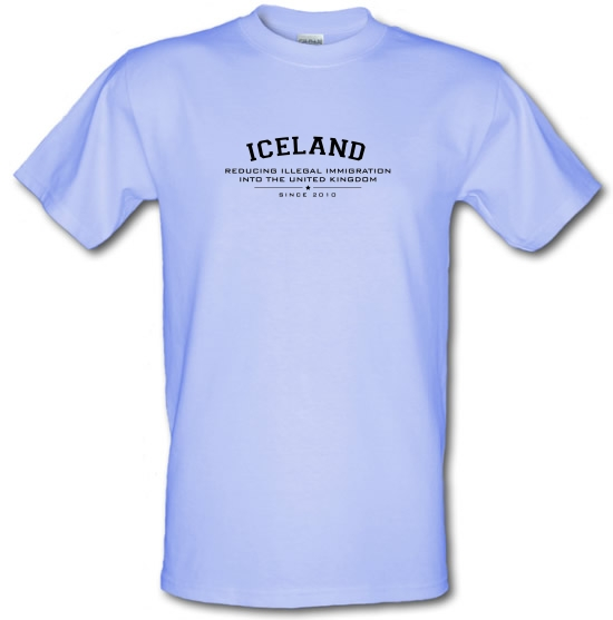 Iceland Reducing Illegal Immigration Since 2010 T-Shirts for Kids