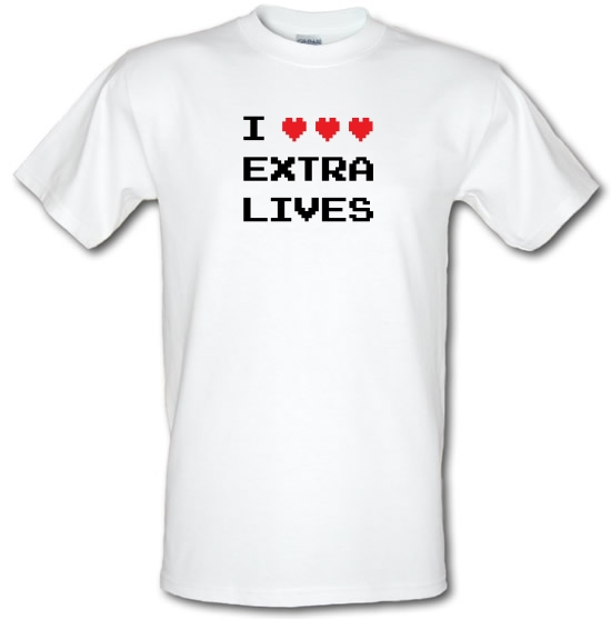 I Heart Extra Lives T-Shirts for Kids