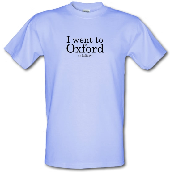 I Went To Oxford (on holiday) T-Shirts for Kids