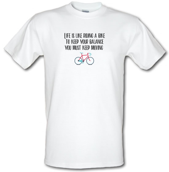Life Is Like Riding A Bike T-Shirts for Kids
