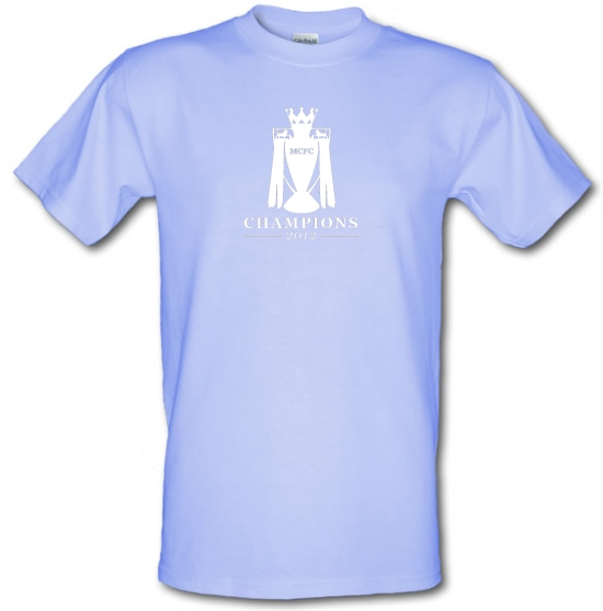 MCFC Champions 2012 T-Shirts for Kids