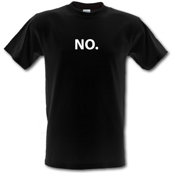 No. T-Shirts for Kids