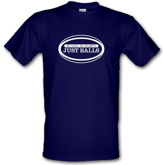 No Pads No Helmets Just Balls T-Shirts for Kids