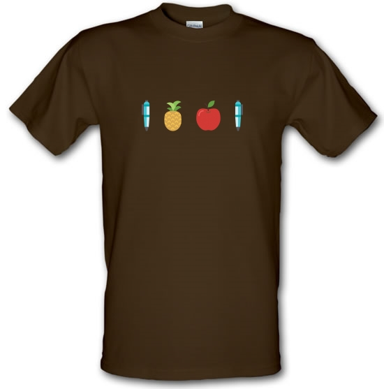 Pen Pineapple Apple Pen T-Shirts for Kids