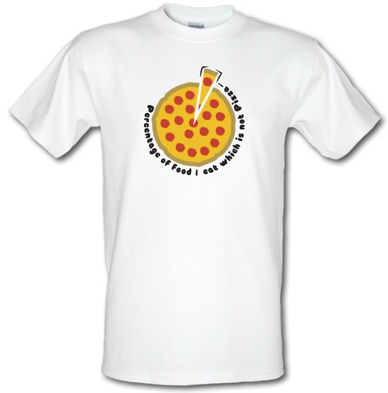 Pizza Percentage T-Shirts for Kids