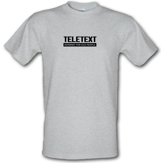 Teletext Internet For Old People T-Shirts for Kids