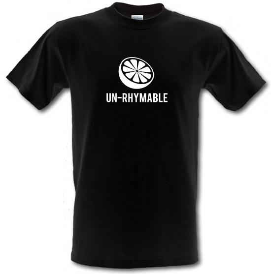 Un-Rhymable T-Shirts for Kids
