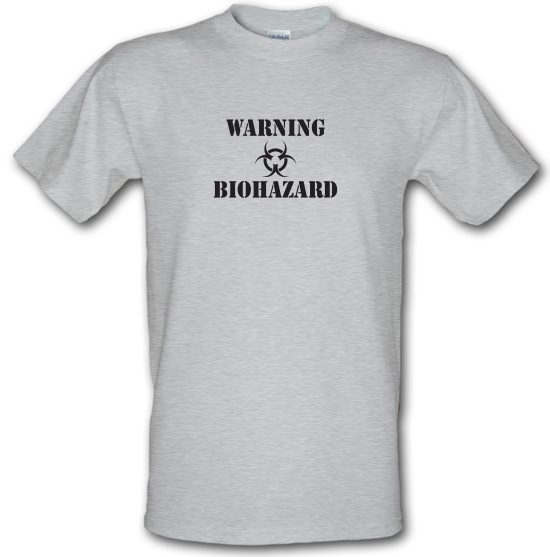 Warning Biohazard T-Shirts for Kids