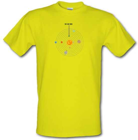 You are Here (Solar System) T-Shirts for Kids