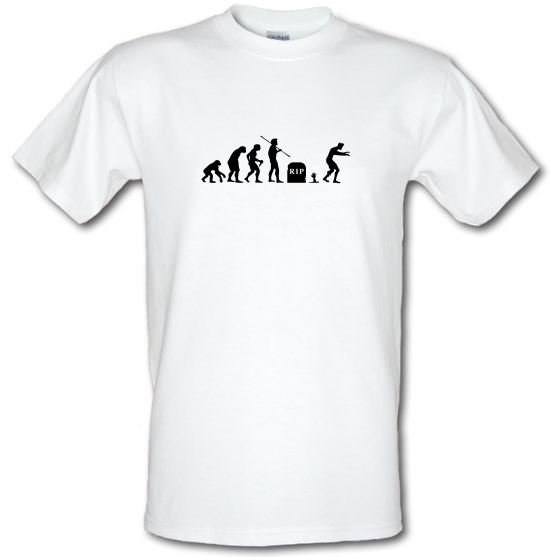 Zombie Evolution T-Shirts for Kids
