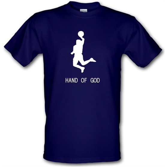 Hand of God t-shirts