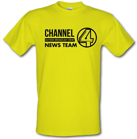 Anchorman - channel 4 outside broadcast t-shirts