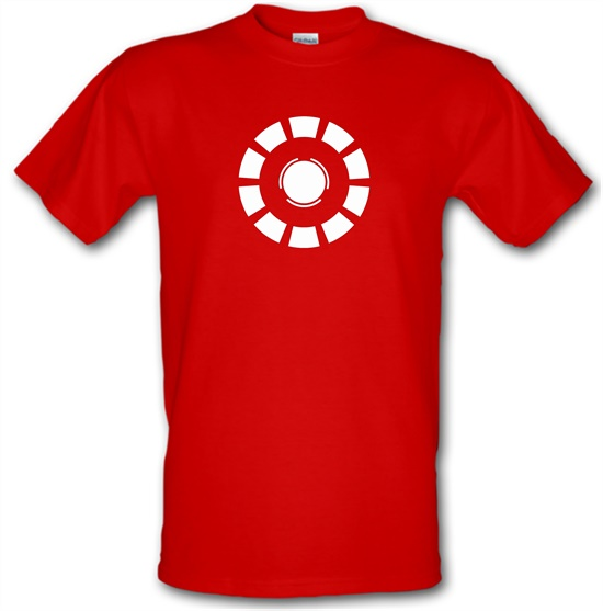 Arc Reactor Iron Man t-shirts