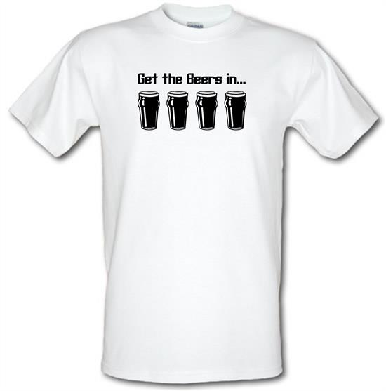 Get the beers in t-shirts