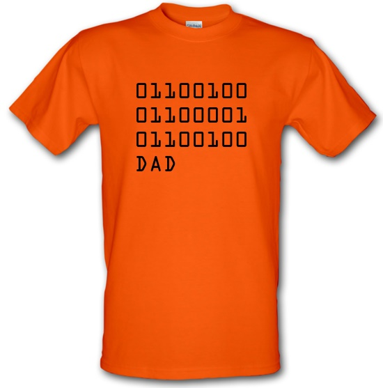 Binary Dad t-shirts