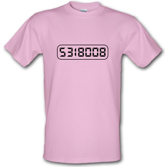 Calculator Boobies t-shirts