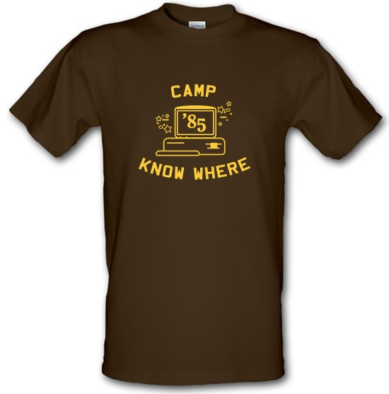 Camp Know Where t-shirts