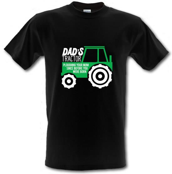 Dad's Tractor: Ploughing Your Mum t-shirts