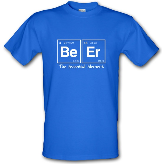 Elements of Beer t-shirts