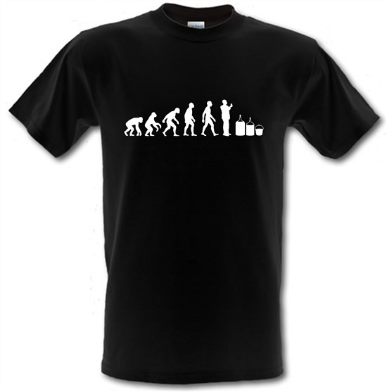 Evolution Of Man Homebrew t-shirts