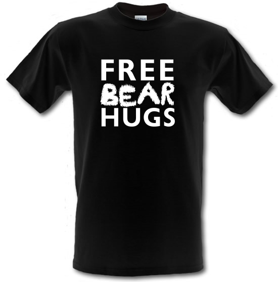 Free Bear Hugs t-shirts