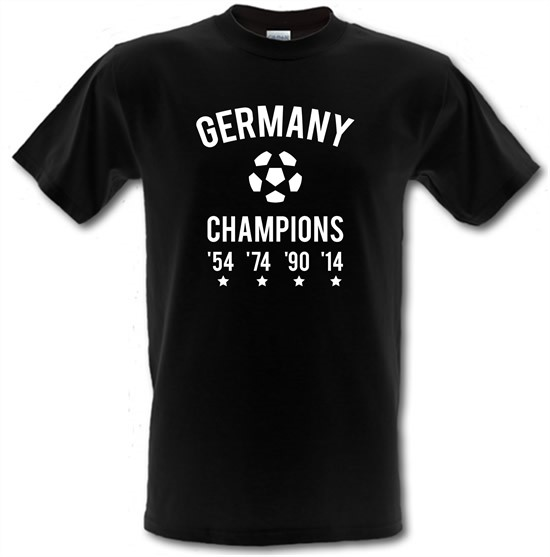 Germany Champions t-shirts