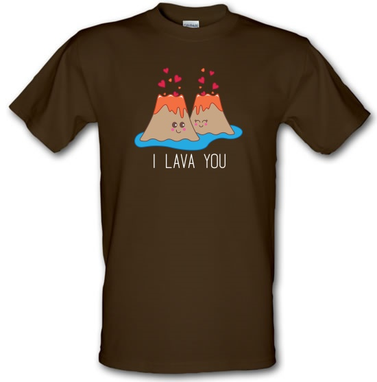 I Lava You t-shirts