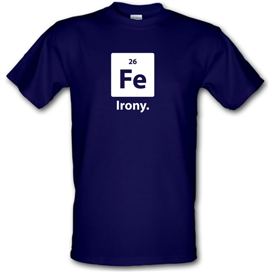 Irony t-shirts
