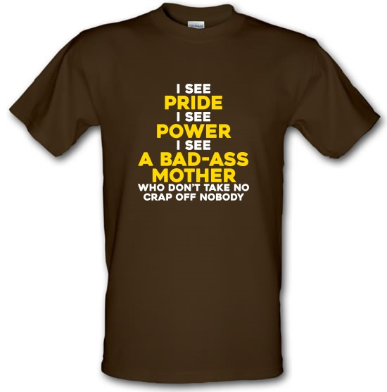 I See Pride, I See Power t-shirts